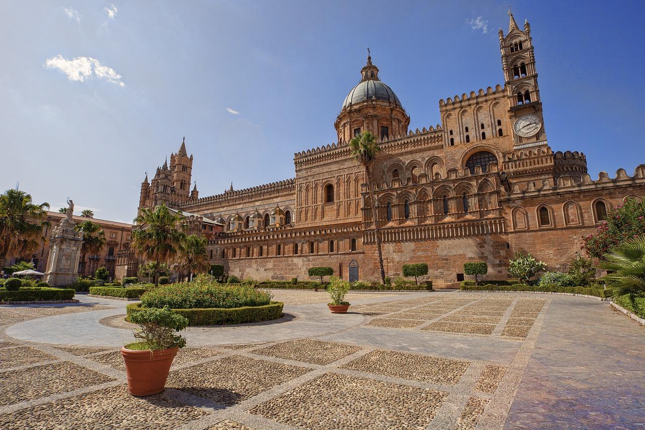 ITALIE :TOUR DE LA SICILE 1170€ BATEAU INCLUS GËNES PALERME
